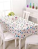 LLD ZHUOBU LIANGLIANG Umweltschutz EVA Tischdecken Wasserdicht Öl-Nachweis Tischmatten Tischdecke Tischplatte (größe : 137*220cm)