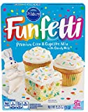 Pillsbury Funfetti Premium Cake & Cupcake Mix With Candy Bits 432g Box