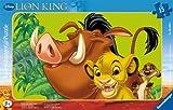 Ravensburger - 06008 5 -Puzzle Incorniciato 15 Pezzi Re Leone Disney immagine