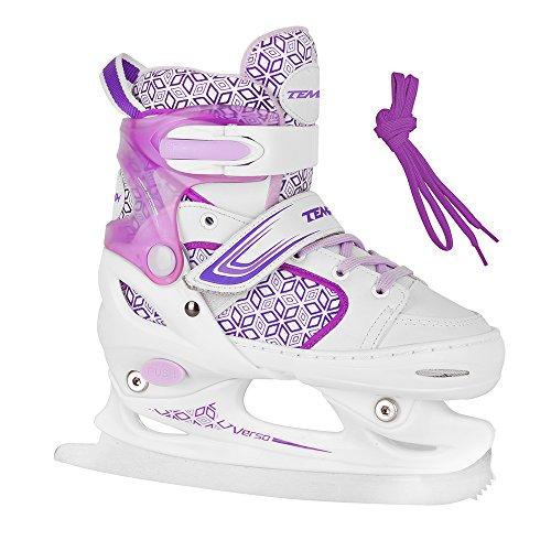 Schlittschuhe für Kinder RS VERSO ICE Girl purple - Größen 26-29, 30-33, 34-37 verstellbar (26-29 verstellbar)