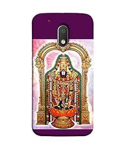 PrintVisa Designer Back Case Cover for Moto G4 Play (mahalakshmi supreme god of wealth)