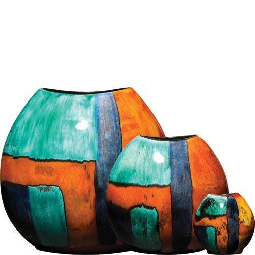 Poole Pottery Gemstones Purse Vase 20cm