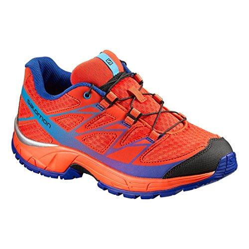 Salomon Jungen L39055900 Trail Runnins Sneakers Orange