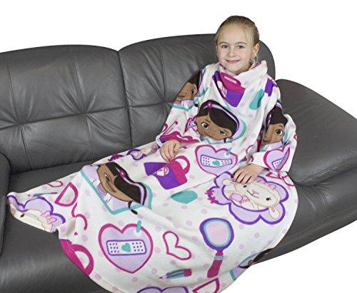 Disney Doc McStuffins Hugs Fleece-Decke mit Ärmeln (Doc Mcstuffins)