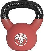 Gorilla Sports Kettlebell Red Rubber, 8kg, 10000491;2
