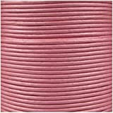 Jewellery of Lords 5 meters of Pink 2mm High Quality Round Cord Real Leather String Lace Thong Jewellery Making