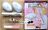 Diswa 18pcs/set Handheld Pedi Mate Nail Tool Finger Foot Nail Electric Manicure Sander Pedicure Foot Care Tool
