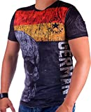 Cabin Herren Germany T-Shirt 698 (XXL-Slim)