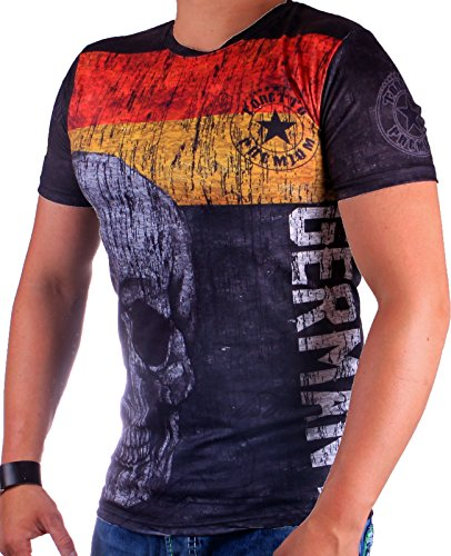 Cabin Herren Germany T-Shirt 698 (XXL-Slim)