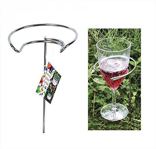 2 Stück, Metall, Weinglashalter, Outdoor, Camping, Picknick-Gasgrill
