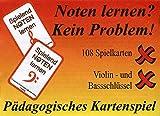 Kartenspiel Spielend -Noten Lernen: Violin- und Bassschlüssel