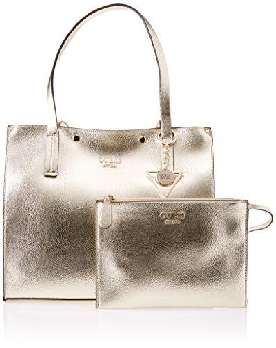 Guess HWMG6778230 Shopping Bag Donna Oro