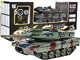 RC Control Remoto Tanque Leopard 2 A6 con Humo 2.4 Ghz 1:24