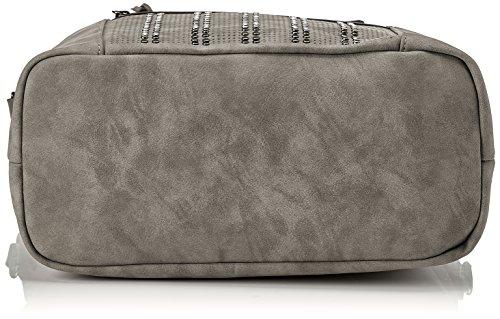 Gabor Damen Naomi Tote, 16x33x39 cm Grau (Grey)