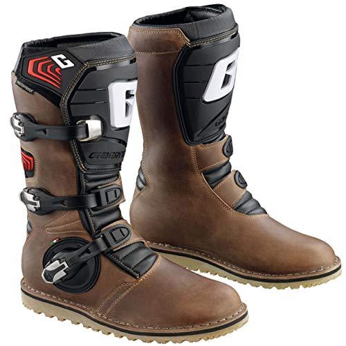 Gaerne Stiefel Balance Oiled Braun Gr. 45 (Motorradstiefel Gaerne)