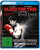Bleed for this [Blu-ray] - Miles Teller, Aaron Eckhart, Katey Sagal