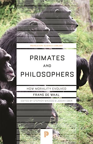 Primates and Philosophers: How Morality Evolved (Princeton Science Library) por Frans de Waal