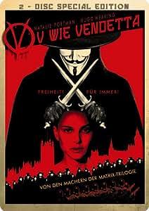 V wie Vendetta (2 DVD, Steelbook inkl. Comic-Auszug, exklusiv bei Amazon)