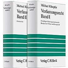 Verfassungsrecht I - Verfassungsrecht II: in 2 Bänden