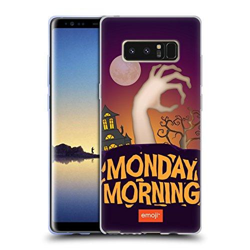 Offizielle Emoji Montagmorgen Halloween Parodien Soft Gel Hülle für Samsung Galaxy Note8 / Note 8