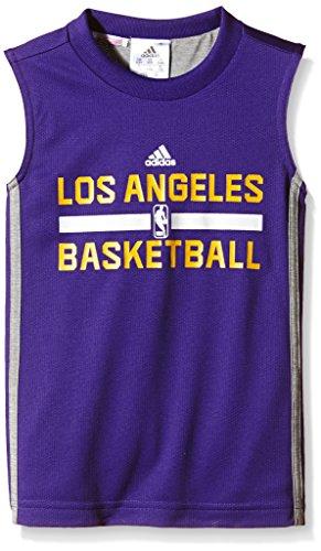 Adidas Y WNTHPS Rev SL - Camiseta para Hombre, Color Morado/Gris / Amarillo, Talla 128