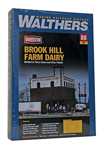 Walthers Corn Silverstone 933-3010-molkerei Brook Hill Modelo Ferrocarril Accesorios