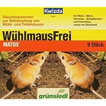 Kwizda Matox Wühlmausfrei 9 Patronen (Pfl. RegNr. 2643)