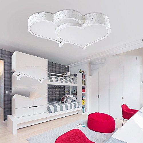 Lina illuminazione della stanza dei bambini per camera da letto semplice e moderno led a forma - Lampadari stanza da letto ...