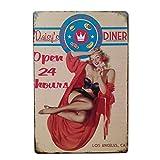 VORCOOL Daisy Diner Hause Garage Vintage Dekorative Zeichen Zinn Metall Eisen Auto Zeichen Malerei Für Wand Home Bar Coffee Shop