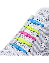 Hickies 2.0 Performance elastische Schnürsenkel, Einheitsgröße, ohne binden (14 Schnürsenkel, für alle Schuhe)