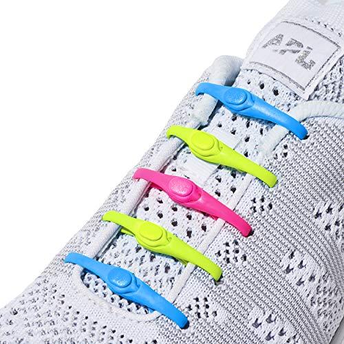 HICKIES Lacci senza cravatta (2.0 nuovi) - Neon Multicolore