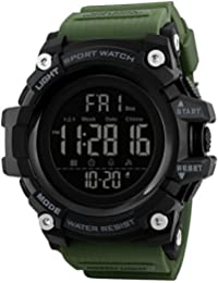 V2A Premium Military Green Digital Multi-Function Chronograph Sports Watch for Men and Boys