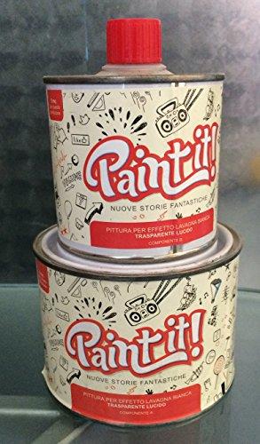 Paint It pittura effetto lavagna - trasparente lucido 500ml