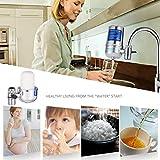 fghdfdhfdgjhh 6L Hohe Qualität Home Haushalt Küchenarmatur Wasserfilter Luftreiniger Wasserhahn Keramikfilter Vorfilter Zubehör