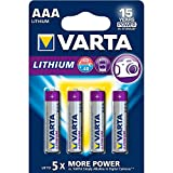 Best Selling Varta Batterie a Litio, Ministilo AAA, Confezione da 4 Pezzi be sure to Order Now