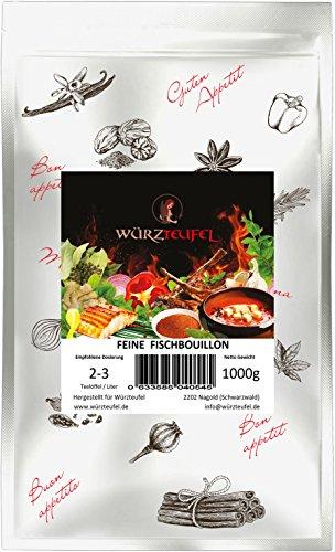 Fisch - Bouillon, Instant - Fischsuppe, Instantsuppe. Aromatische Fischbrühe. Beutel 1000g. (1KG)