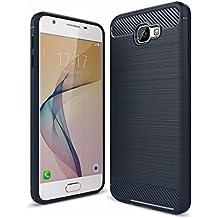 ZAPCASE Samsung Galaxy On Nxt Back Cover Case, Heavy Duty Shock Proof TPU Case , Premium Protection, Metallic Black