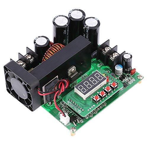 KKmoon 900W Digital Boost Modul Control DC / DC Boost Modul 0-15A IN 8-60V, 10-120V Hochsetzsteller Stromversorgung CC CV LED Anzeige