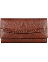 The Clownfish Leatherette Wallet for Women Ladies Purse Handbag Clutch Bags