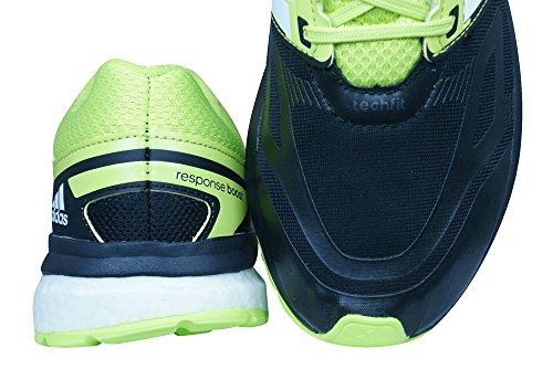 adidas Response Boost Techfit M, Chaussures de Running Homme, Noir Black
