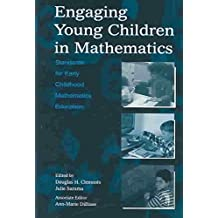 [Engaging Young Children in Mathematics: Standards for Pre-School and Kindergarten Mathematics Education] (By: Douglas H. Clements) [published: August, 2003]