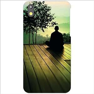 HTC Desire 816G Back Cover - Meditate Designer Cases