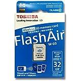 Toshiba Flash Air Carte SD sans fil 32Go sd-r032gr7al03a