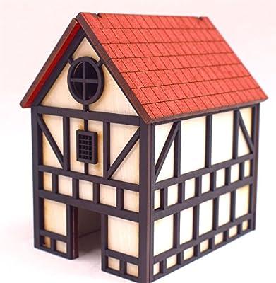 Maison de Ville Fantastique Médiévale par WWS - Wargaming, Diorama, Paysage, Modélisme