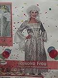 : Erwacksenen Kostüm Verkleidung Fasching rokoko roccoco Damen Frau one size