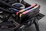 Corsair Vengeance RGB PRO 16 GB (2 x 8 GB) DDR4 3200 MHz C16 XMP 2.0 Enthusiast RGB LED Illuminated Memory Kit - Black - 6