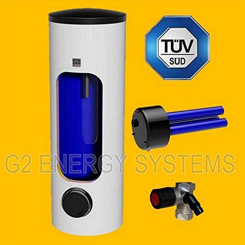 300 Liter L elektrischer Warmwasserspeicher Boiler Elektrospeicher mit Keramikheizpatrone 3-6 kW Leistung