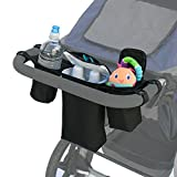 J.L. Childress Cups N Cool Deluxe Stroller Console Black