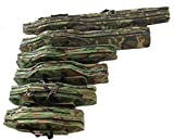 KANANA Angeltasche Rutentasche Rutenfutteral Angelkoffer Anglertasche Tasche (tasche2fach), Länge:130cm