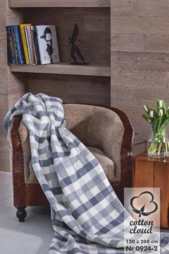 Kuscheldecke Baumwolle Tagesdecke Sofadecke Überdecke Schlafdecke 150x200 cm #02